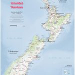 New Zealand Wall Maps Including North And South Island Maps   New Zealand South Island Map Printable