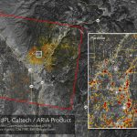 News | Updated Nasa Damage Map Of Camp Fire From Space   Fire Watch California Map