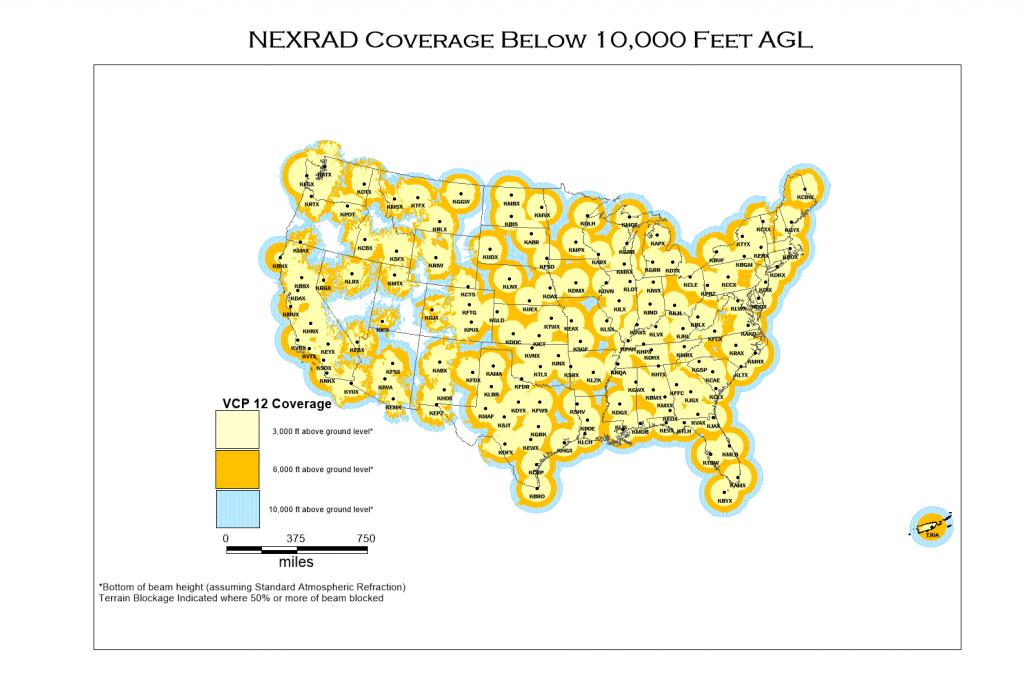 Nexrad And Tdwr Radar Locations - Texas Radar Map