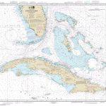 Noaa Chart 11013. Nautical Chart Of Straits Of Florida And   Nautical Maps Florida