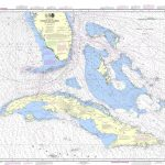 Noaa Chart   Straits Of Florida And Approaches   11013   The Map Shop   Nautical Maps Florida