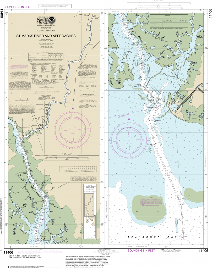 Noaa Nautical Charts In  Format - Boating Maps Florida