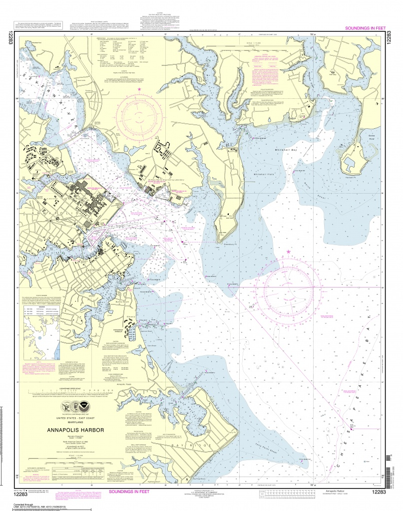 Noaa Nautical Charts Now Available As Free Pdfs | - Boating Maps Florida