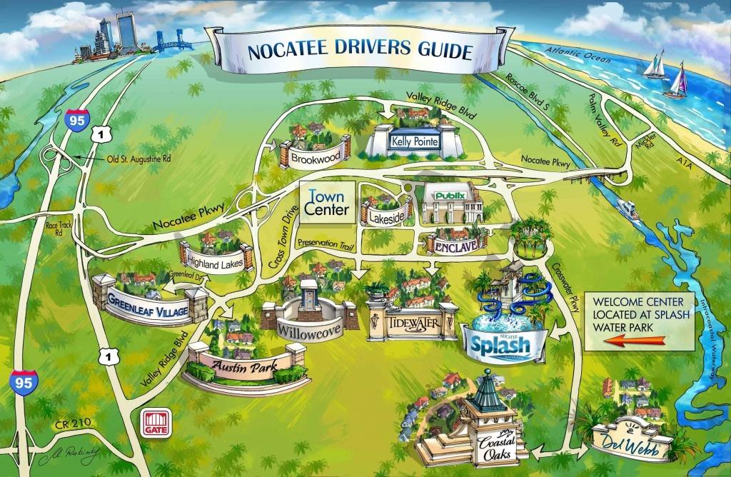Nocatee Map | Nocatee | Ponte Vedra Beach, Florida Home, New Homes - Ponte Vedra Florida Map