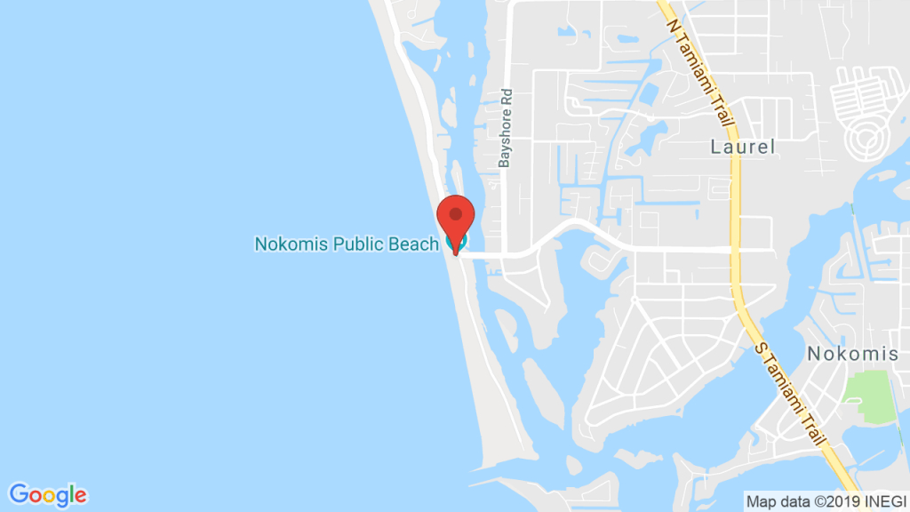 Nokomis Beach Pavilion In Nokomis, Fl - Concerts, Tickets, Map - Nokomis Florida Map
