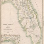North America Xiv Florida.: Geographicus Rare Antique Maps   Florida Maps For Sale