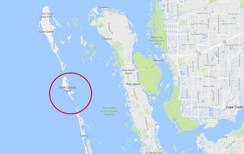 North-Captiva-Island-Map - Sanibel Real Estate Guide - North Captiva Island Florida Map
