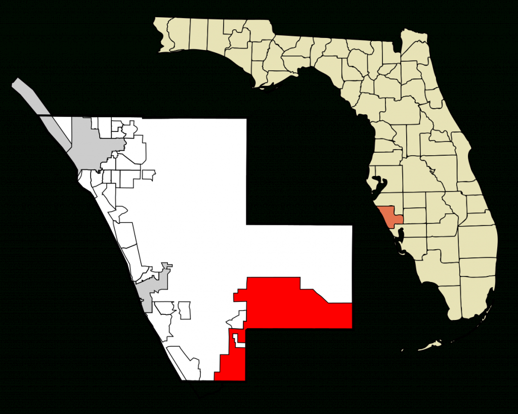 North Port, Florida - Wikipedia - Where Is North Port Florida On A Map