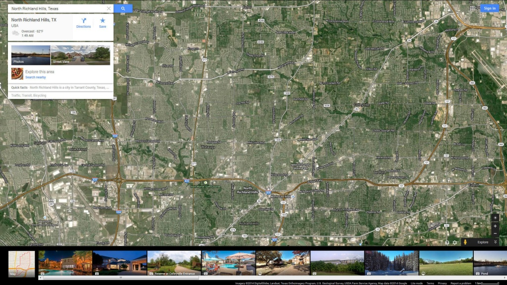 North Richland Hills Texas Map - Richland Hills Texas Map