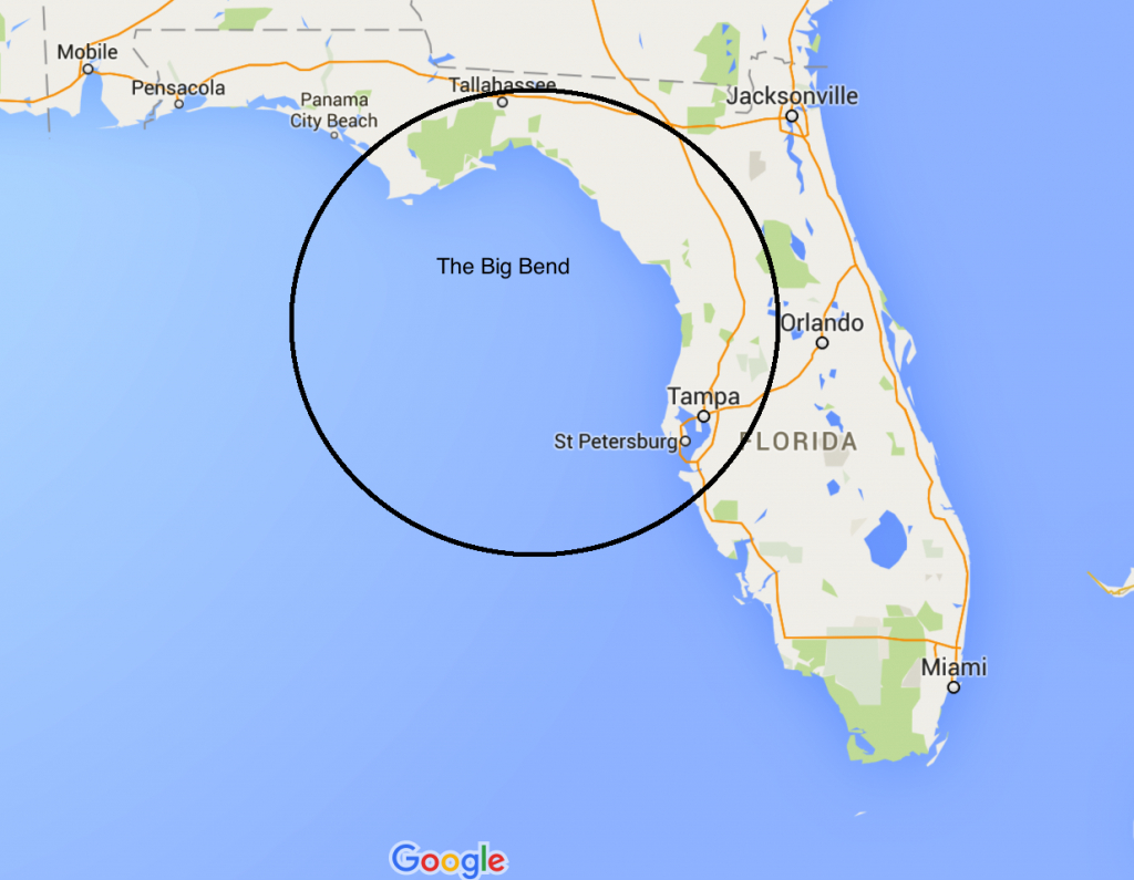 November 13 – ??, 2015 – Panama City – Waiting To Cross The Big Bend - Carrabelle Florida Map