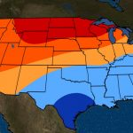 November To January 2019 Temperature Outlook: Mild In The North   Florida Weather Map With Temperatures