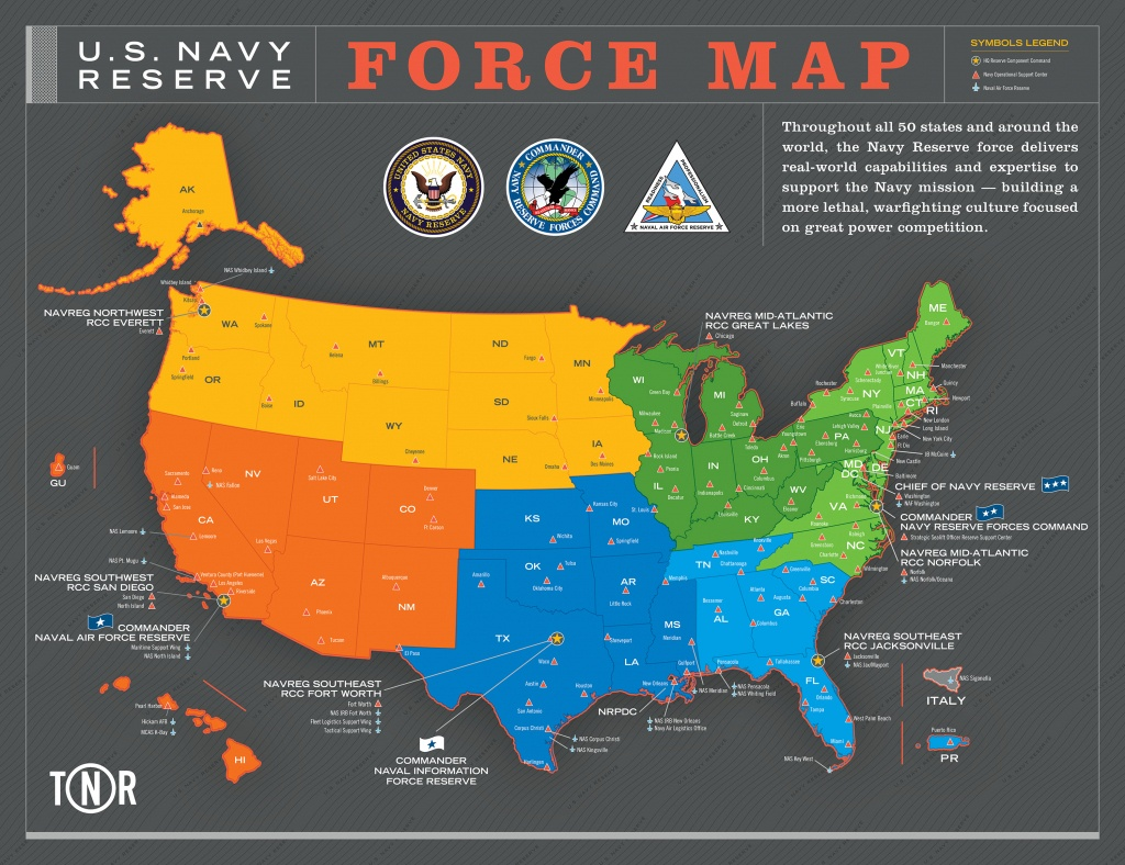 Nrh - Nosc Locator Map - Map Of Navy Bases In California