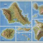 Oahu. Kauai. Maui. Molokai. Hawaii. Hawaiian Islands.   David Rumsey   Molokai Map Printable