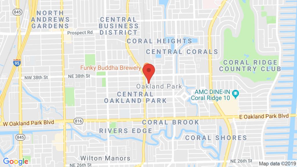 Oakland Park City Hall In Oakland Park, Fl - Concerts, Tickets, Map - Oakland Park Florida Map