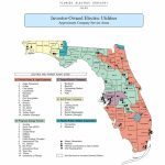Of The Major Florida Utilities, Take Nextera   Nextera Energy, Inc   Duke Energy Florida Coverage Map