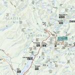 Official Glacier National Park Map Pdf - My Yellowstone Park - Printable Map Of Glacier National Park
