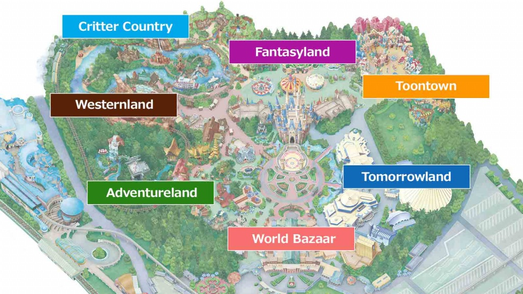 Official]Map|Tokyo Disneyland - Printable Disneyland Park Map