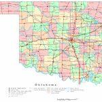 Oklahoma Printable Map   Printable Map Of Oklahoma