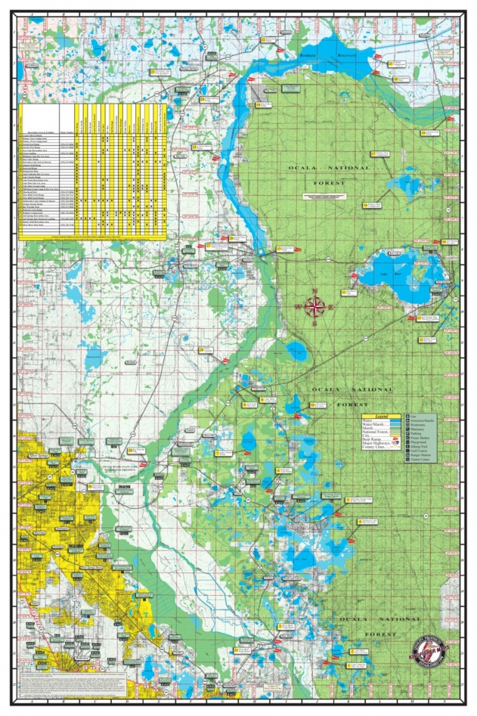 Oklawaha River Florida - Kingfisher Maps, Inc. - Avenza Maps - Ocklawaha Florida Map