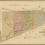 Old City Map   Galveston Texas Landowner   Labatt 1869   Map Of Galveston Texas