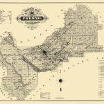 Old County Map   Fresno California   1914   Fresno California Map