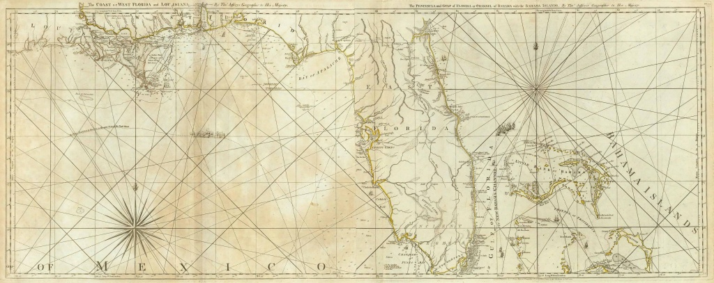Old Historical City, County And State Maps Of Florida - Old Florida Maps For Sale