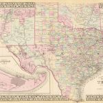 Old Historical City, County And State Maps Of Texas   Texas Land Survey Maps Online