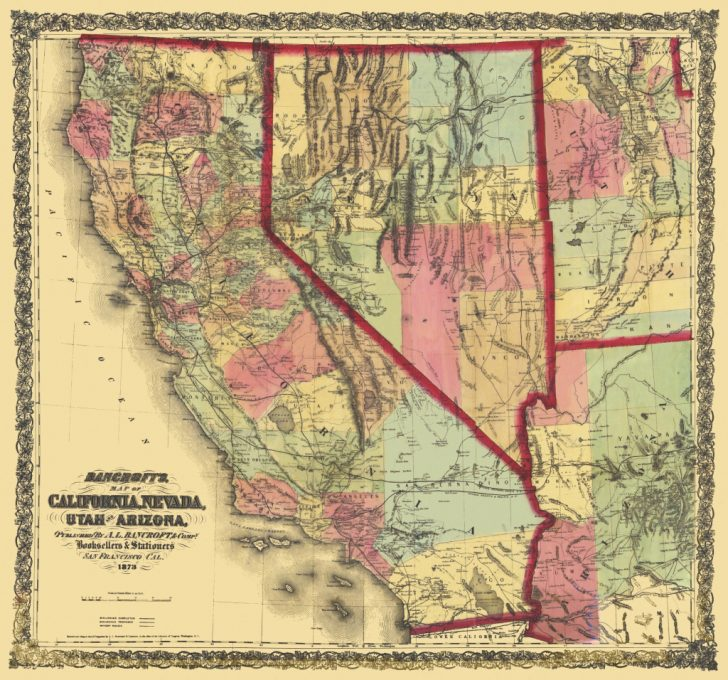 Map Of California And Nevada