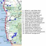 Oregon Northern California Coast Map – Map Of Usa District - Map Of Oregon And California Coastline