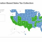 Origin-Based And Destination-Based Sales Tax Collection 101 - Texas Property Tax Map