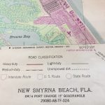 Original Florida Map Of New Smyrna Beach Ponce Inlet Us Dept   Smyrna Beach Florida Map