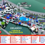 Orlando Park Map | Theme Park Map   Florida Theme Parks On A Map
