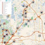 Orlando Printable Tourist Map In 2019 | Free Tourist Maps   Map Of Orlando Florida Area