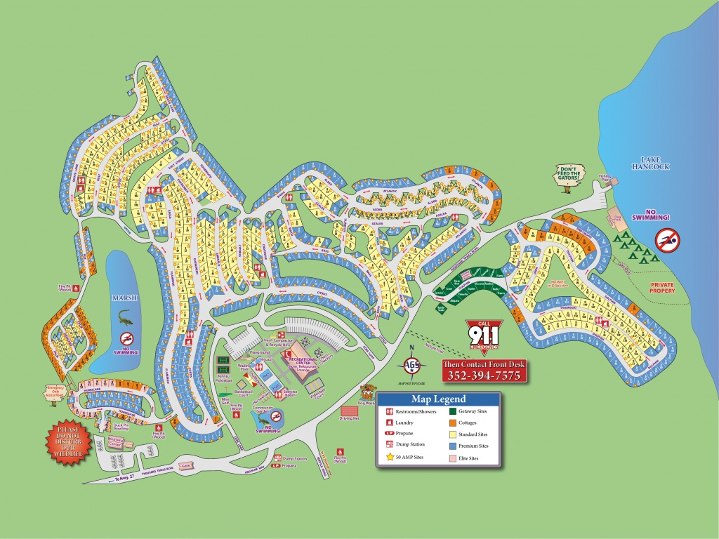 Orlando Rv Resort (Thousand Trails) - Clermont, Fl - Campground Reviews - Thousand Trails Florida Map