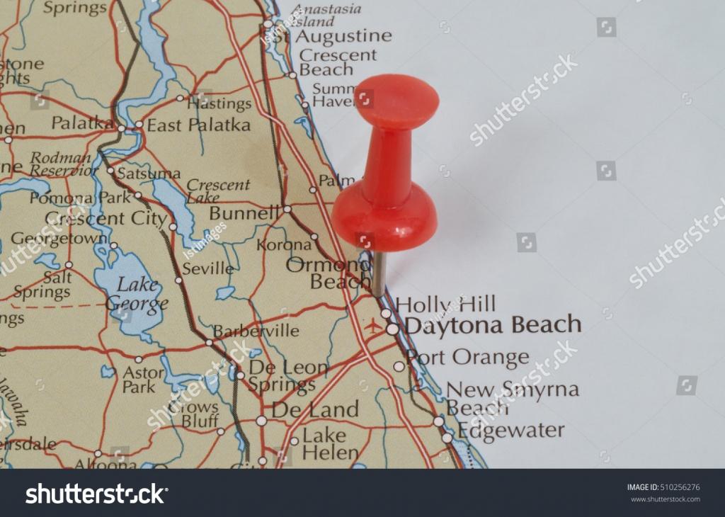 Ormond Beach Florida Volusia United States Stock Photo (Edit Now - Map Of Crescent Beach Florida