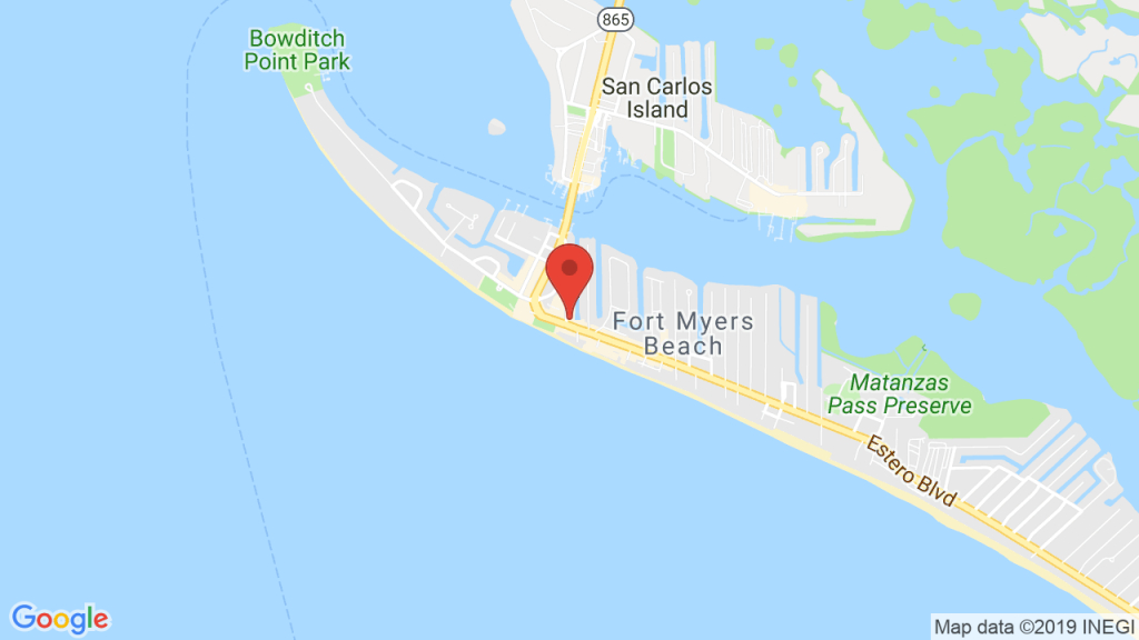 Orpheus Cafe In Fort Myers Beach, Fl - Concerts, Tickets, Map - Map Of Fort Myers Beach Florida