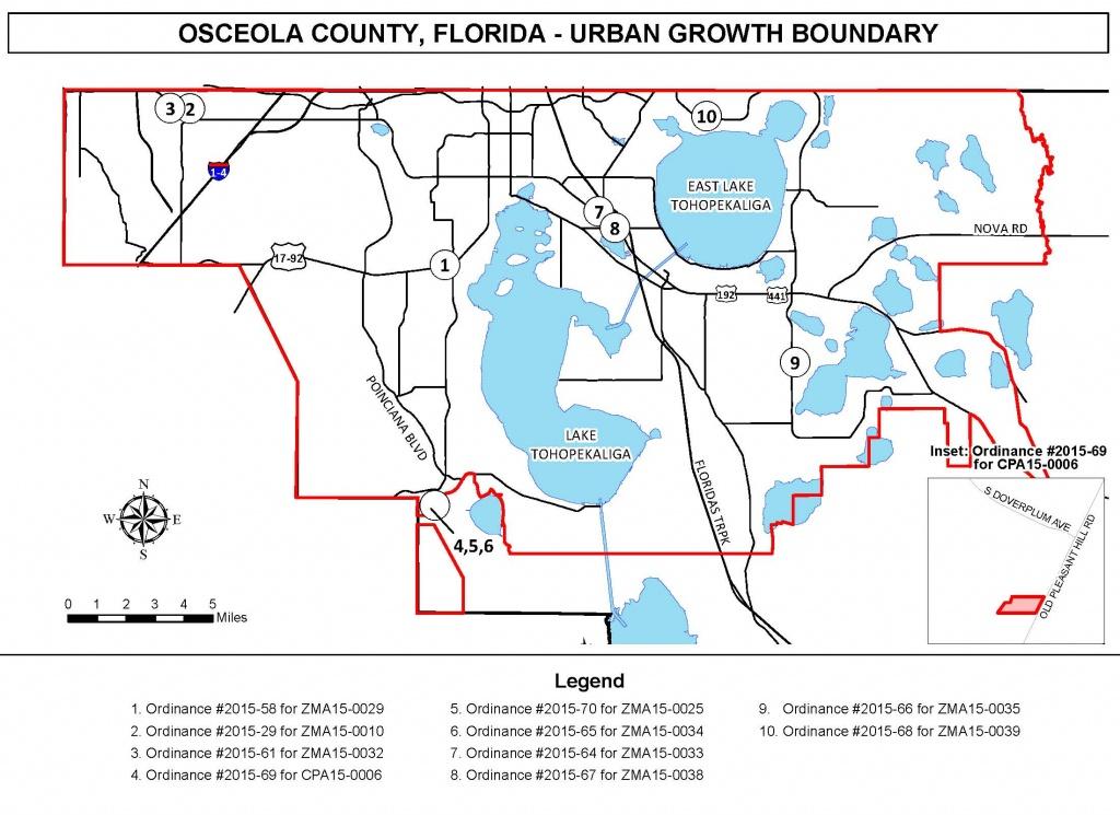 Osceola County   Public Notices - Flood Zone Map Osceola County Florida