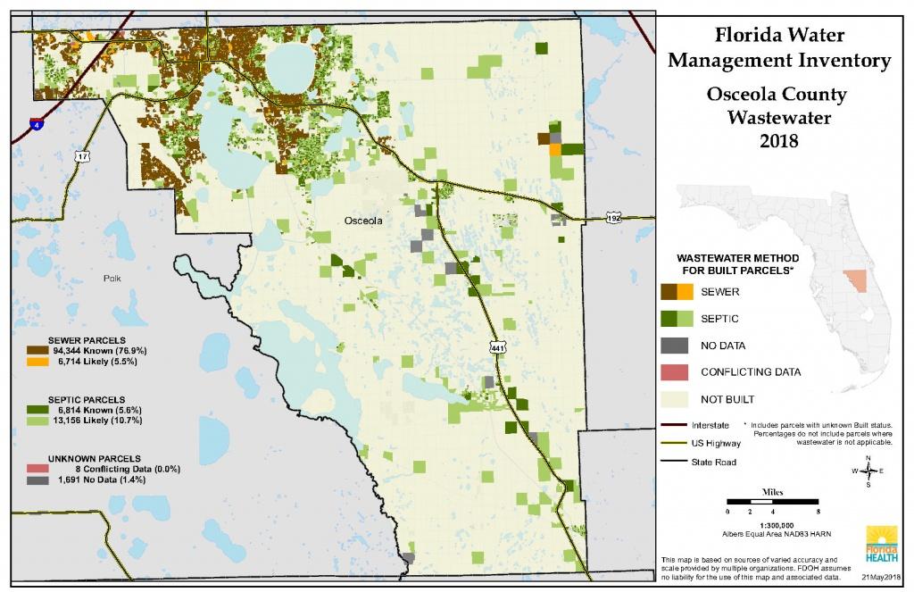 Osceola Florida Water Management Inventory Summary   Florida - Map Of Osceola County Florida