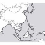 Outline Map Of South Asia New Printable Blank Southeast   Asia Outline Map Printable