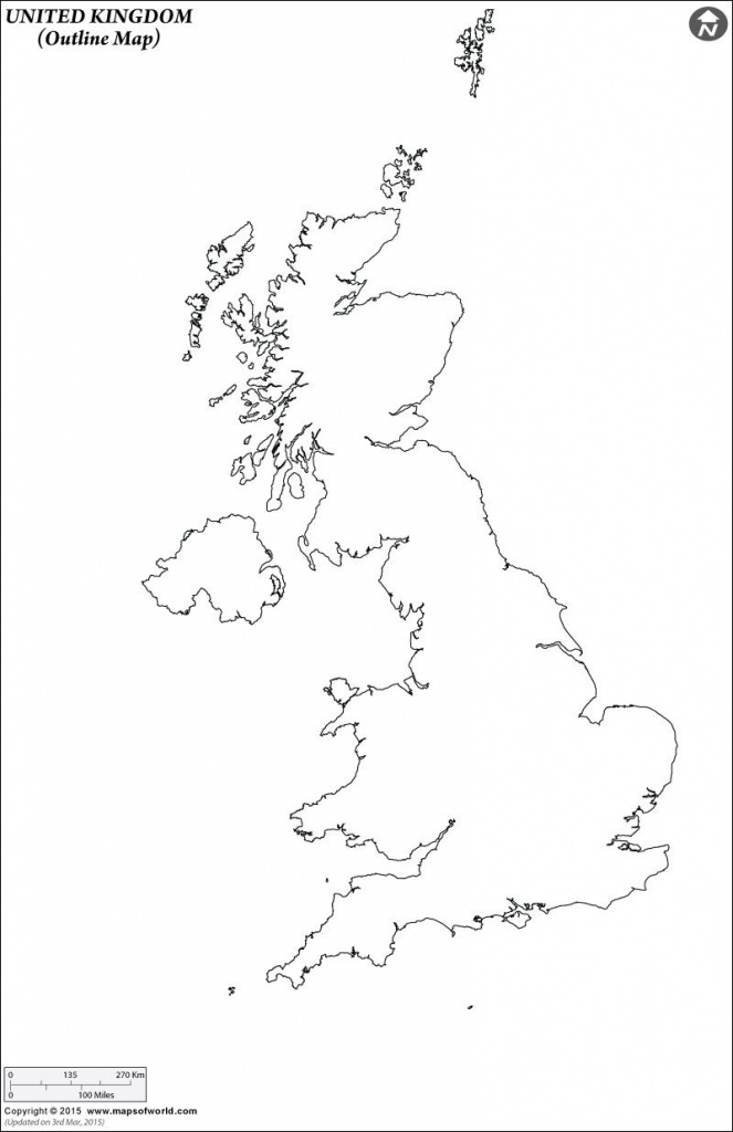 Outline Map Of United Kingdom | Work | Map, Map Outline, United - Uk Map Outline Printable