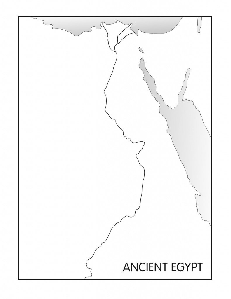 Outline Maps: Ancient Egypt And Greece   Social Studies   Egypt Map - Ancient Egypt Map Printable