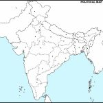 Outline Political Map Of India | Dehazelmuis   Political Outline Map Of India Printable