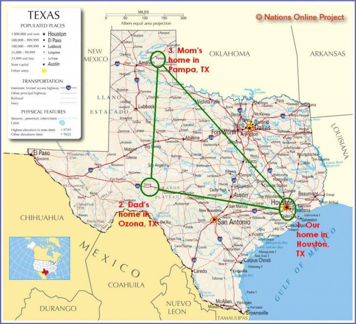 Ozona Texas Map