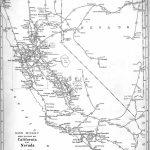P Fmsig :: 1948 U.s. Railroad Atlas   California Railroad Map