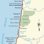Pacific Coast Route: Oregon | Road Trip Usa - Map Of Oregon And California Coastline