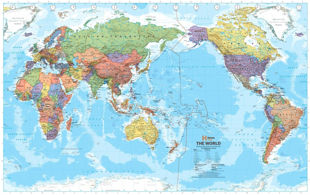 Pacific Ocean On World Map And Travel Information | Download Free - Printable World Map Pacific Centered