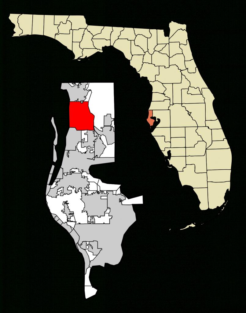 Palm Harbor, Florida - Wikipedia - Map Of Palm Coast Florida Area