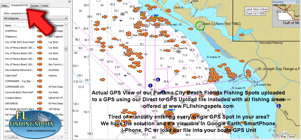Panama City Florida Fishing Map | Fishing | Panama City Panama - Top Spot Fishing Maps Florida