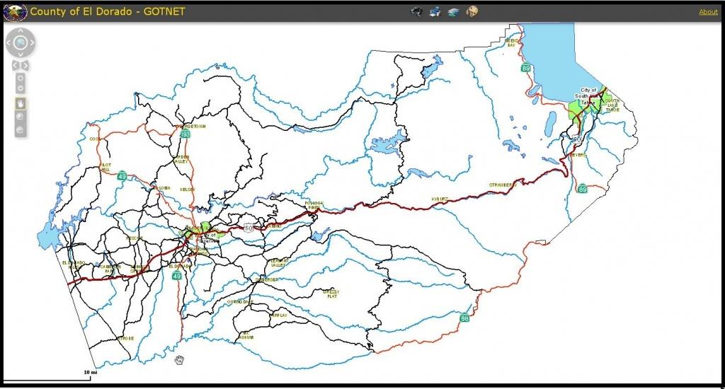 Parcel Inquiry Application-Gotnet - El Dorado County California Parcel Maps