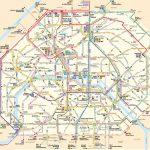 Paris Attractions Map Pdf - Free Printable Tourist Map Paris, Waking - Printable Map Of Paris City Centre